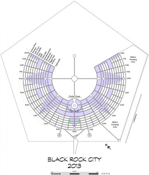 2013 Burning Man Map