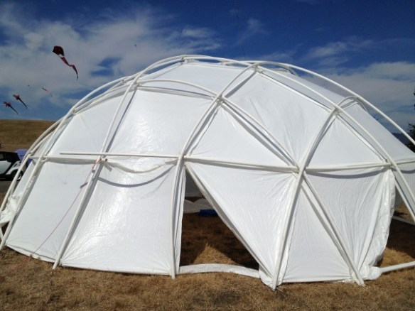 Completed 30' dome