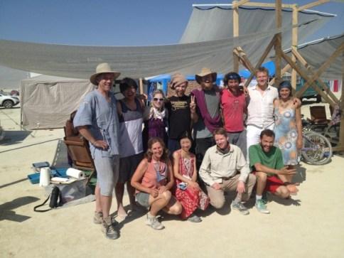 2013 Christian Science at Burning Man group