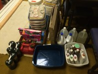Foot washing supplies