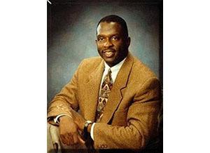 Photograph of composer Moses Hogan