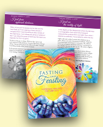 Learning to Let Go -- Unity booklet, Fasting and Feasting