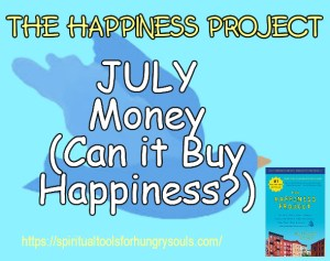 July Happiness Project: Can Money Buy Happiness?