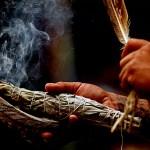 La fumée et les chamans