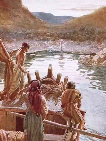 14 Jezus aan het meer van Tiberias Wiliam Hole