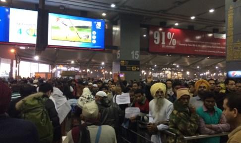 インドの空港