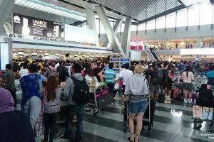 混雑した空港3