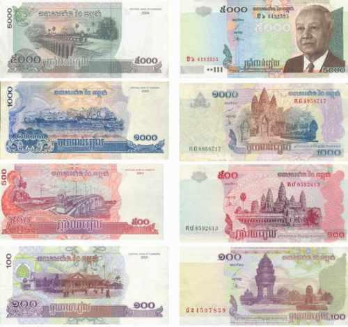カンボジアの通貨、リエル