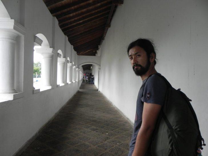 部屋へと続く廊下
