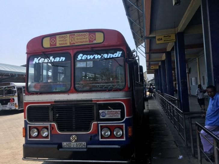 スリランカバス