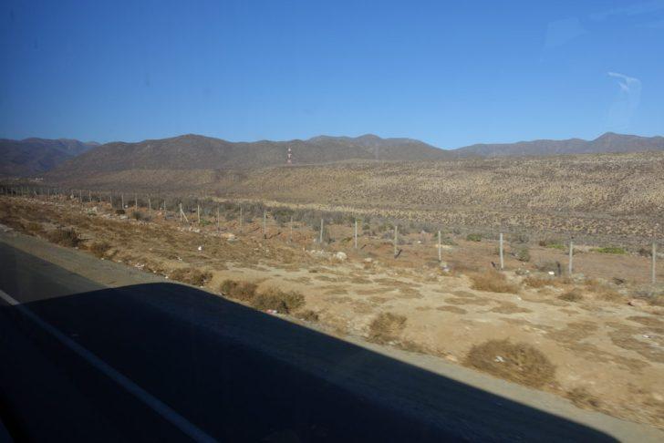 砂漠の景色