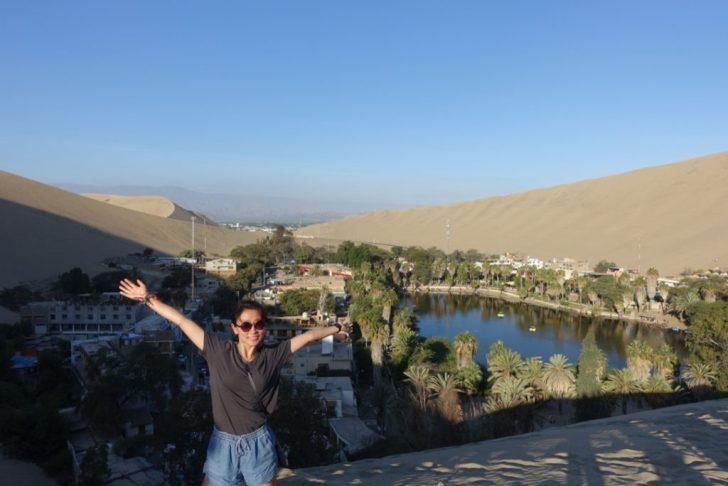 砂漠のオアシス、ワカチナ