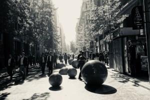 サンティアゴの新市街