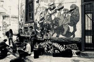 バルパライソの街角