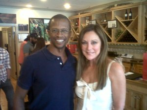 With Peggy Fleming in 2011