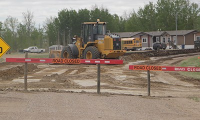 Shellbrook removes 7th Street speed curve
