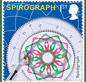spirograph stamp