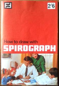 Cover of 1968 Spirograph booklet