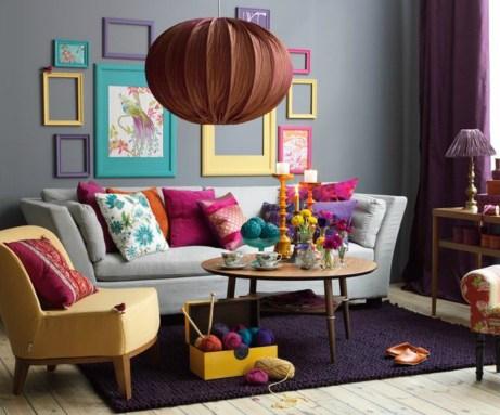 Βάλτε χρώμα σε κάθε δωμάτιο του σπιτιού. Αμέσως ο χώρος σας θα δείξει πιο καλοκαιρινός.
