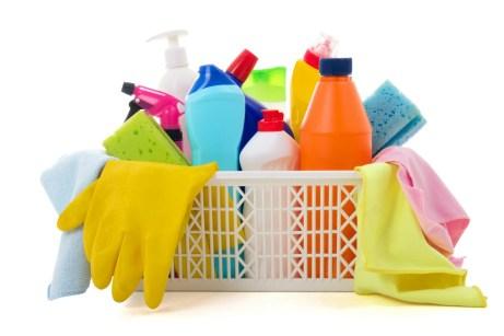 Κρύψτε τα χρληματά σας μέσα σε άδειες συσκευασίες από προιόντα καθαρισμού.
