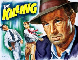 The_Killing_movie_poster_painting_Sterling_Hayden_portrait