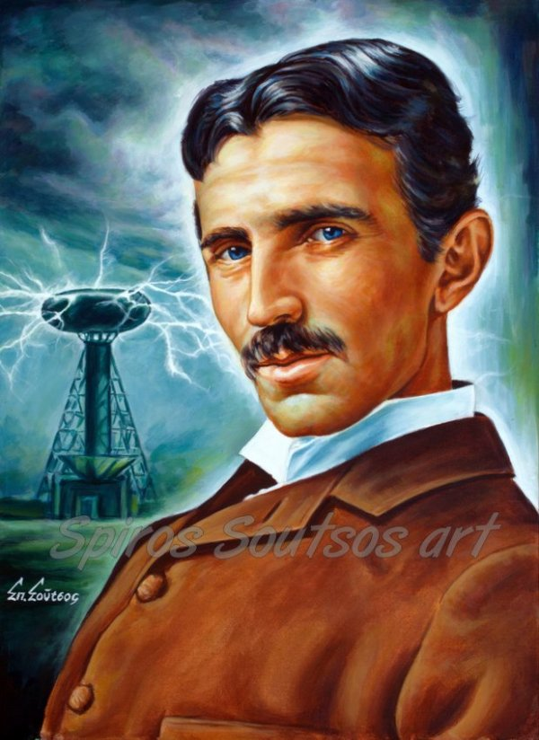 Nikola_Tesla_Tower_painting_portrait_canvas_print_poster