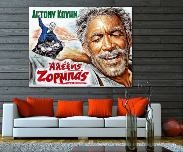 Zorba_the_greek_movie_poster_Anthony_Quinn_painting_portrait_print_canvas_sofa