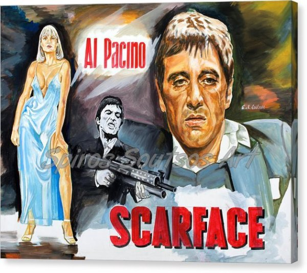 al-pacino-scarface-canvas-print_movie_poster_painting
