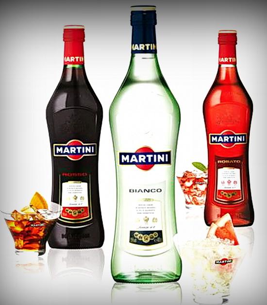 MARTINI крепкие напитки мартини