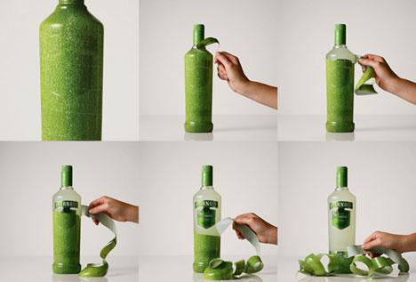 Водка со вкусом лимона, маракуйи и ягод поставляется как и фрукты, в деревянных ящиках