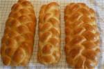 At flette brød med 5, 6 og 7 strimler