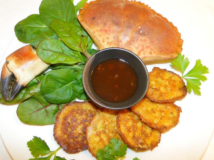 Krabbe-kaker med asiatisk vri