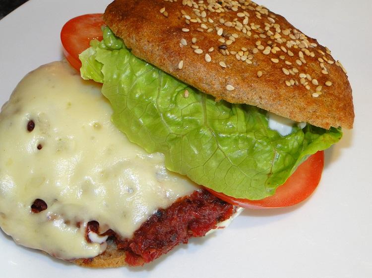 «Blodig» veggisburger