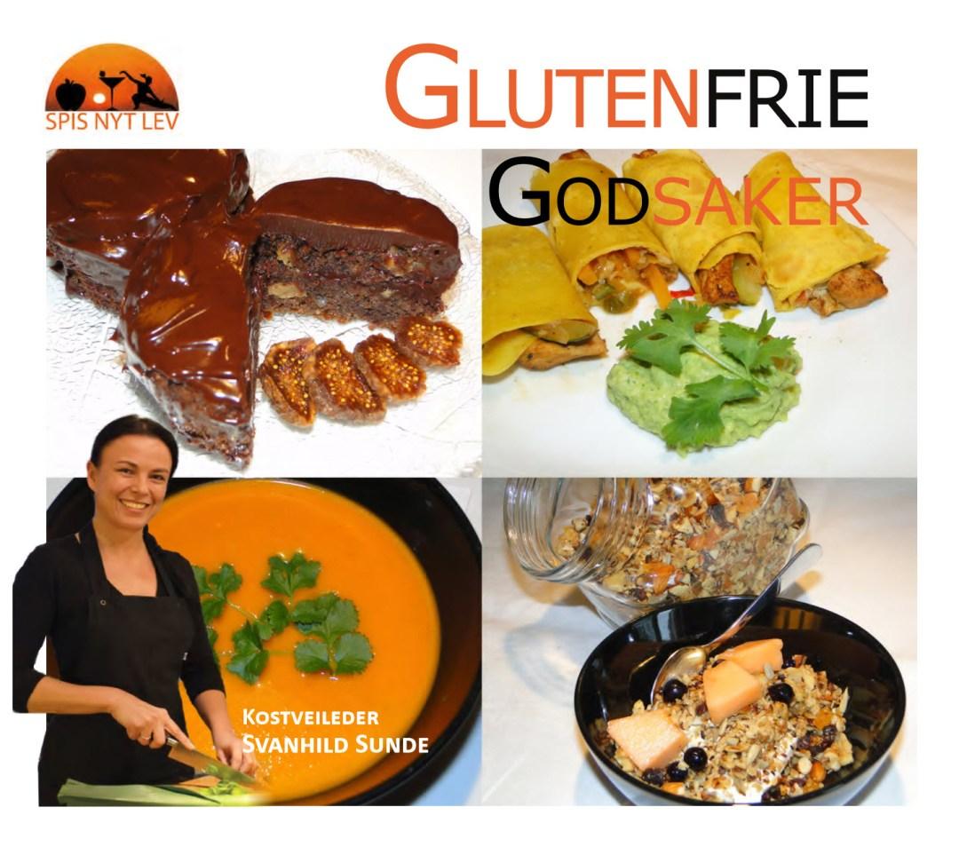 Forside bok Glutenfrie Godsaker