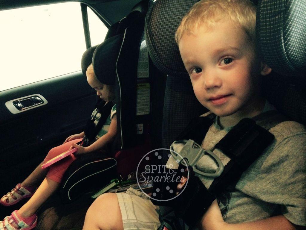 Spit & Sparkles: Worst Day of My Parenting Life #lockedcar #summer #kidsincar