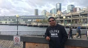 Sarin visiting Seattle