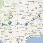 Printable Map Of Route 66 Usa
