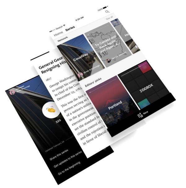 Series: um novo jeito de compartilhar suas histórias no Medium