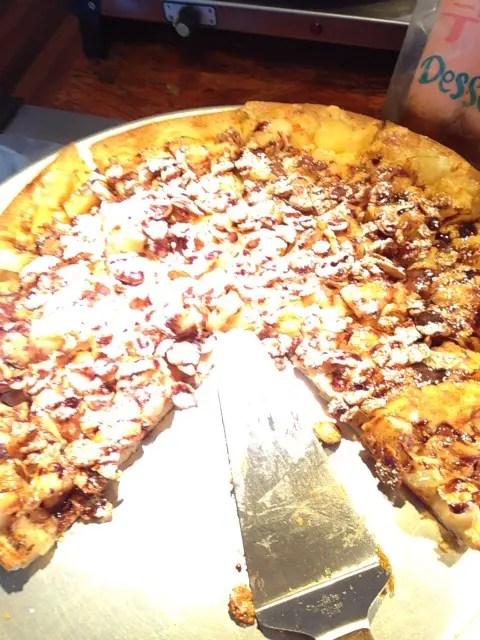 ピザ食べ放題です