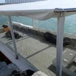 2013/12のボートの様子、部屋になってます