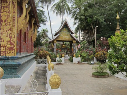 One of Luang Prabang's top tourist sites.