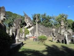 Giant concrete reclining buddha.