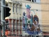 Exceedingly strange mural.