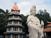 Buddha and Guanyin.
