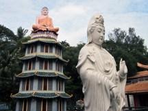 Buddha and Guanyin.