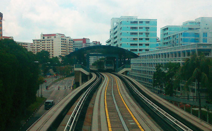 Bukit Panjang Light Rail Transit (LRT)
