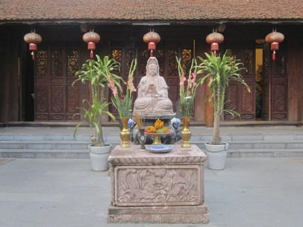 Quan Am (aka Kuan Yin, Guanyin, Kannon, the Goddess of Mercy)