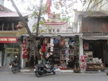 Not sure if Buddhist temple or Christmas shop...