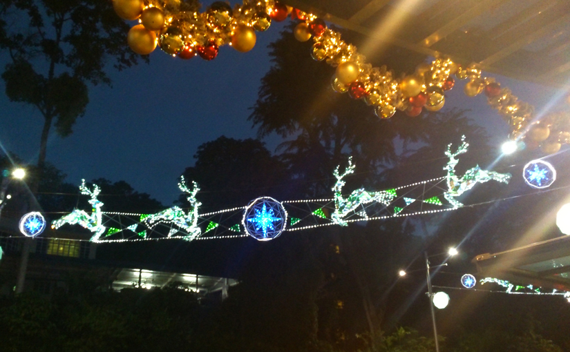 2016 Christmas decorations on Orchard Road