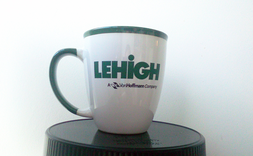 Lehigh mug is lihai.